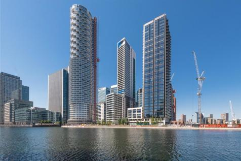 One Park Drive, Canary Wharf, E14. 3 bedroom apartment for sale