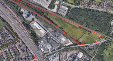 Bellshill Road, Uddingston. Land for sale