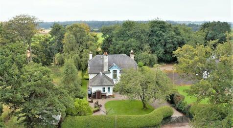 Glendelvine School House, Spittalfield, Caputh, By Dunkeld, Perthshire, PH1 4JL. 4 bedroom country house for sale