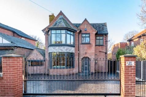 Singleton Lodge, Park Road, Manchester. 4 bedroom detached house for sale