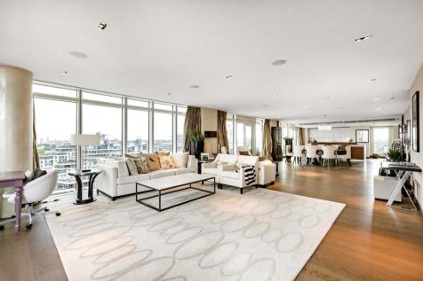 Ascensis Tower, Battersea Reach, Battersea, SW18. 3 bedroom penthouse for sale