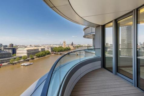 Tower Two, The Corniche, 23 Albert Embankment, London SE1. 3 bedroom flat for sale