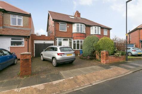 Beatty Avenue, High West Jesmond, Newcastle Upon Tyne. 4 bedroom semi-detached house