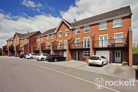 Trentham Lakes, Stoke On Trent. 4 bedroom town house