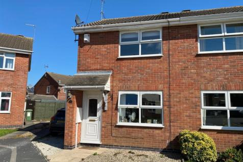 Newby Close, Whetstone, Leicester. 2 bedroom semi-detached house for sale