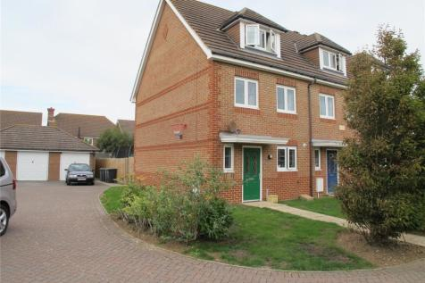 Tiger Moth Close, Lee-On-The-Solent, Hampshire, PO13. 4 bedroom end of terrace house