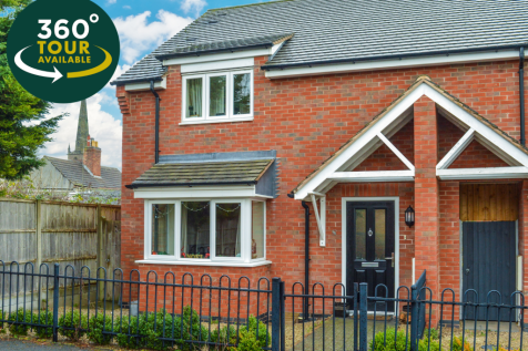 Fairview Avenue, Whetstone, Leicester. 3 bedroom end of terrace house for sale