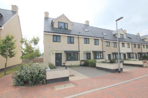 Kings Square, Taunton, Somerset, TA1. 4 bedroom town house for sale