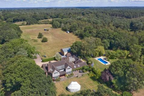 Setley, Brockenhurst , SO42. 6 bedroom detached house for sale