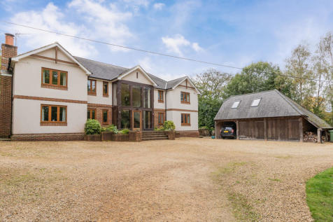 Church Lane, Ewshott, Farnham. 7 bedroom detached house for sale