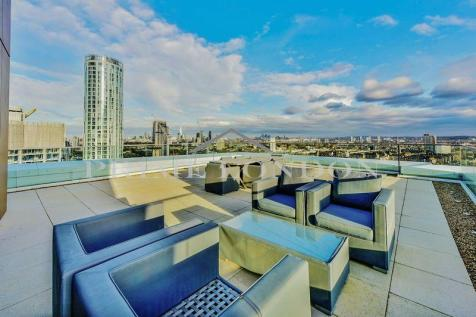 Pinto Tower, Nine Elms Point, London. 4 bedroom penthouse for sale