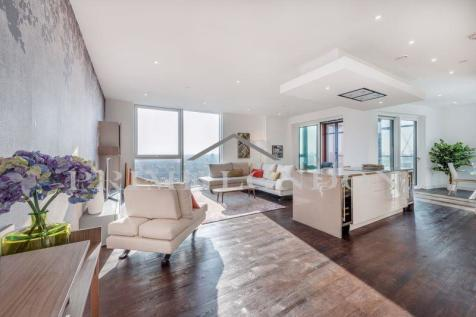 The Penthouse, Pinto Tower, Nine Elms Point. 4 bedroom penthouse for sale