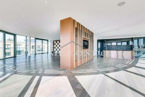 Goldhurst House, Fulham Reach, London. 5 bedroom penthouse for sale