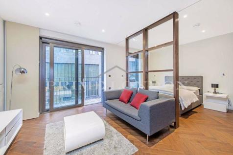 Capital Building, Embassy Gardens, Nine Elms. Studio apartment