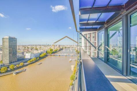 Merano Residences, 30 Albert Embankment, London. 2 bedroom penthouse for sale