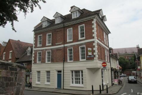 7 Milk Street, Shrewsbury. 1 bedroom apartment