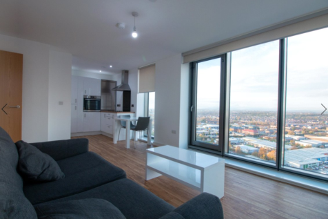 Media City, Michigan Point Tower A,, 9 Michigan Avenue, Salford, M50. 2 bedroom flat