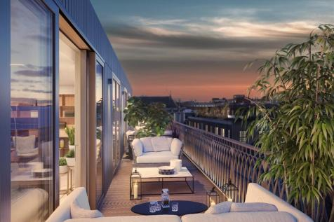Marylebone Square, Moxon Street, Marylebone, W1. 3 bedroom penthouse for sale