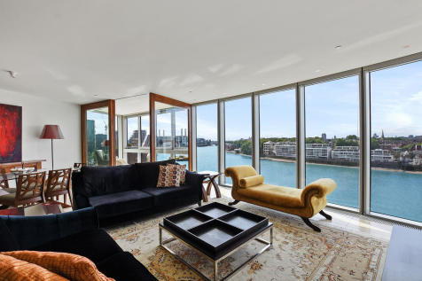 The Tower, St. George Wharf, London, SW8. 3 bedroom apartment