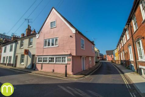 West Stockwell Street, Colchester, CO1. 4 bedroom end of terrace house