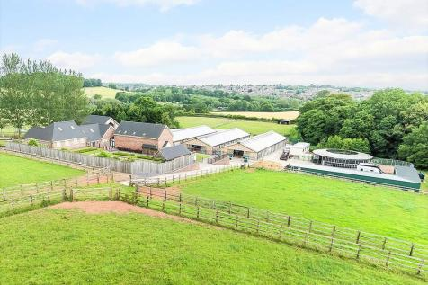 Park Road, Butterton. 16 bedroom equestrian facility