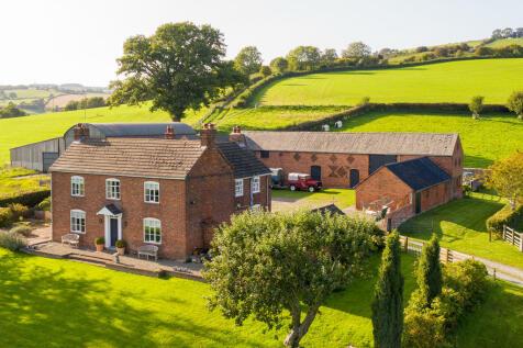 Worthen, Shrewsbury. 4 bedroom farm house for sale