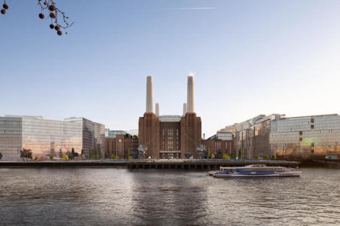#2036, Switch House West, Battersea Power Station. 2 bedroom duplex for sale