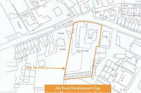 Ala Road,Gwynedd,Pwllheli,Clwyd,LL53 5BL. Land for sale