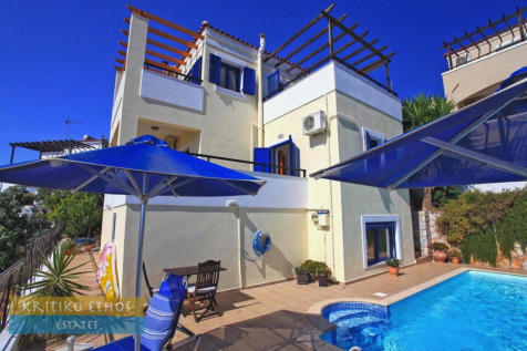 Kefalas, Chania, Crete. 3 bedroom villa