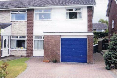 Gourton Square, Borras Park, Wrexham. 3 bedroom semi-detached house