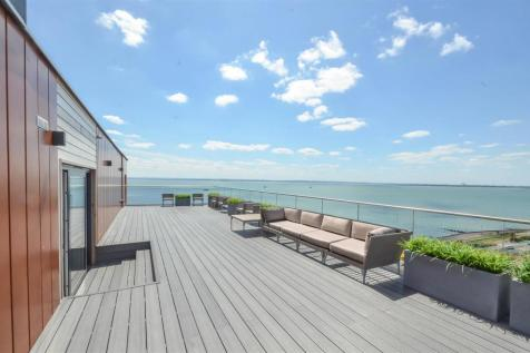 The Shore, The Leas, Chalkwell. 4 bedroom penthouse for sale