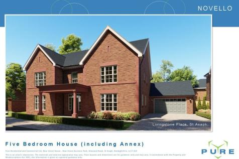 Livingstone Place , St. Asaph. 5 bedroom detached house for sale