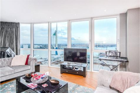 No.1 Building, Gunwharf Quays. 2 bedroom apartment for sale