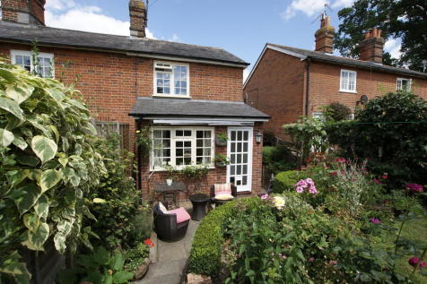 Cricket Green, Hartley Wintney. 3 bedroom end of terrace house for sale