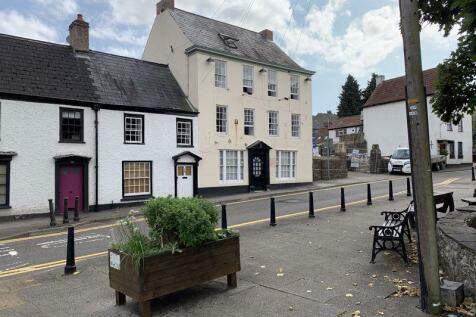 Former Chepstow Castle Hotel , Bridge Street, Chepstow. Land for sale