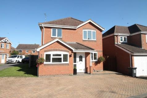 Cheriton Close Daventry Northamptonshire. 3 bedroom detached house