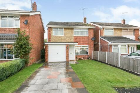 Wellswood Road, Wrexham, Wrecsam, LL13. 3 bedroom detached house for sale