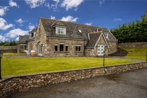 Townhead Lodge, Ardoe, Aberdeen, AB12. 4 bedroom detached house for sale