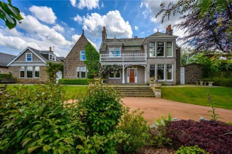 Turlundie Lodge, Charlestown Road, Aboyne, Aberdeenshire, AB34. 6 bedroom detached house for sale