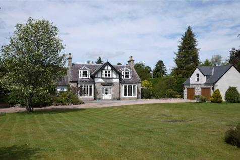 Deeside Lodge, Charlestown Road, Aboyne, Aberdeenshire, AB34. 6 bedroom detached house for sale
