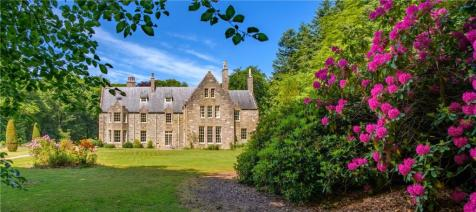 Crowmallie House, Pitcaple, Inverurie, Aberdeenshire, AB51. 17 bedroom detached house for sale