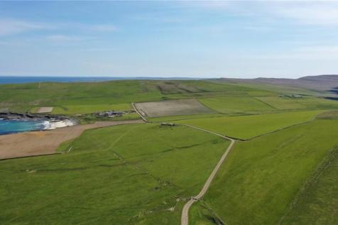 Longhouse Farm & Land At Bisgeos, Westray, Orkney, KW17. Land for sale