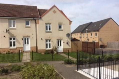 Russell Road, Wester Inch Village, Bathgate. 3 bedroom end of terrace house