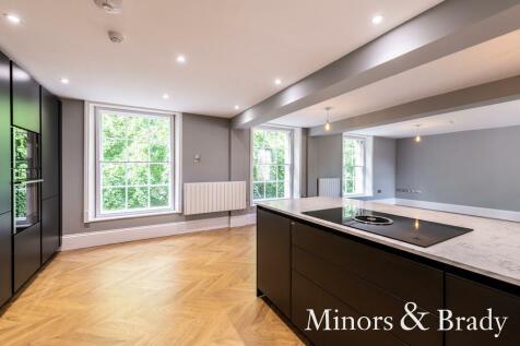 Surrey Street, Norwich. 3 bedroom apartment for sale