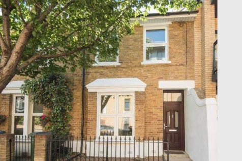 Calvert Road, London. 2 bedroom terraced house
