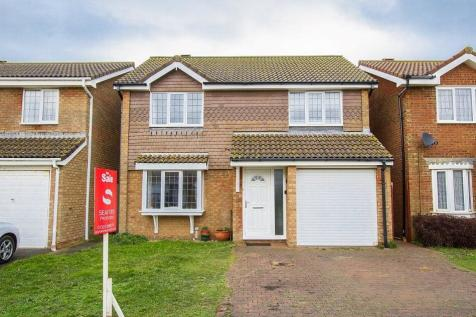 The Covers, Seaford. 4 bedroom detached house for sale