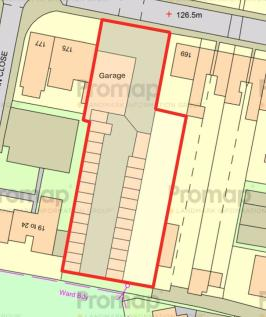 Ashburnham Road, Luton. Land for sale
