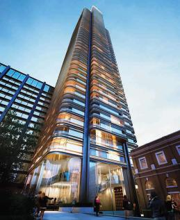 Worship Street, City, Shoreditch, EC2A. 3 bedroom flat for sale