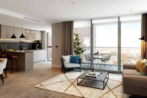 Prince of Wales Drive, Vauxhall, London, SW8. 3 bedroom flat for sale