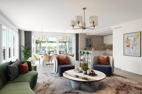 Fulham Reach, Fulham, London, W6. 3 bedroom flat for sale